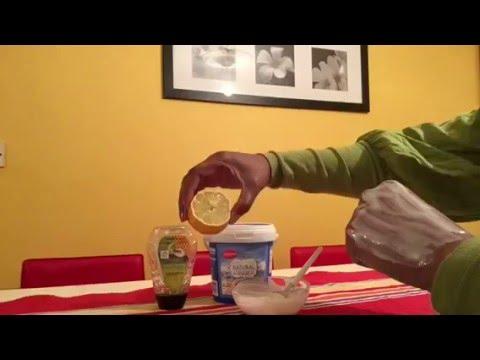 Le masque pour la personne de la laminaire sèche