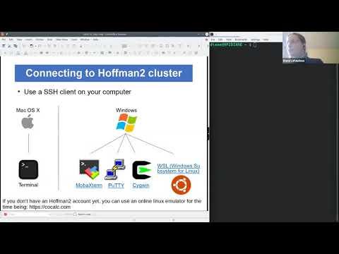 W1: Intro to Unix command line - Day 1 - YouTube