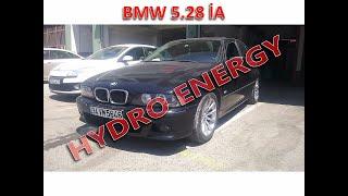BMW 5.28 hidrojen yakıt tasarruf cihaz montajı