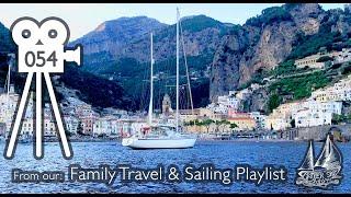 Sailing The Amalfi Coast Of Italy, Visiting Herculaneum & Capri Islands Super Yacht Anchorage! #54