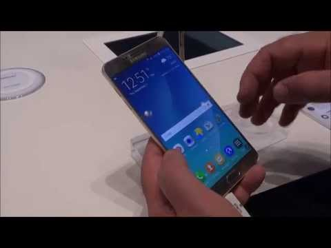 IFA 2015: Anteprima Samsung Galaxy Note 5 Gold