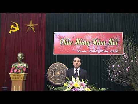 Đ/c Chủ tịch UBND huyện Chúc mừng năm mới nhân dịp xuân Bính Thân 2016