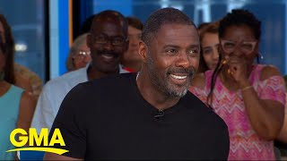 Idris Elba Dishes On The Action-packed Hobbs & Shaw L GMA