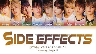 STRAY KIDS   Side Effects (부작용) (Color Coded Lyrics EngRomHan가사)