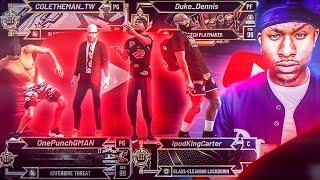4 Verified NBA 2K youtubers take over mypark on NBA 2K20 ft GMAN, COLETHEMAN AND IPODCARTER!