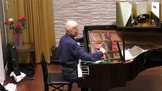 瀬川宏ピアノ調律Piano tuning by Mr. Ko Segawa (for piano solo concert) Steinway-O