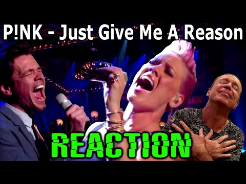 Download Vocal Coach Reacts To Pink | Just Give Me a Reason | Live | Ken Tamplin Mp4 HD Video and MP3