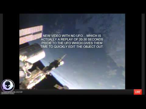 7/8/2014 BUSTED! NASA EDITS GIANT SAUCER UFOS ABOVE EARTH IN LIVE FEED – Aliens