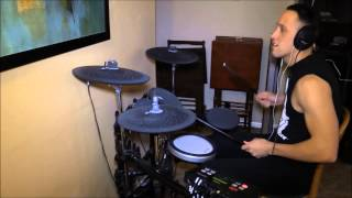 "Adam playing a drum cover of Christine McVie's ""Got a Hold on Me"""