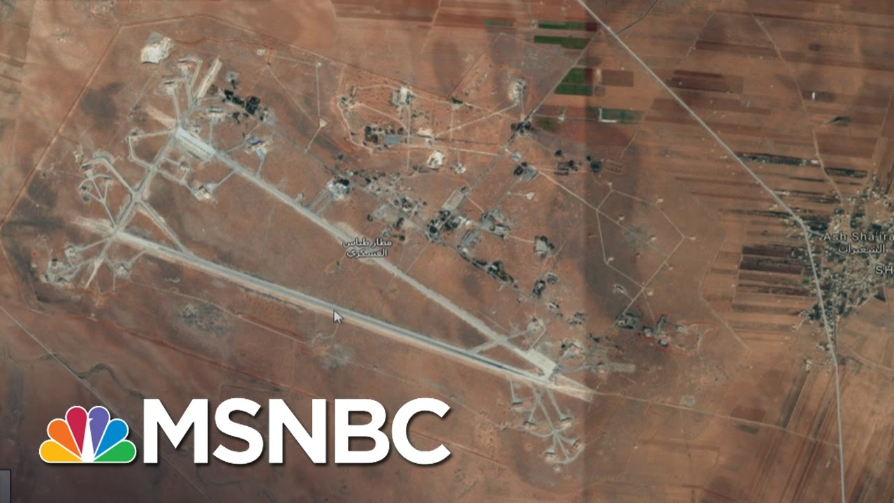 US Fires More Than 50 Tomahawks Against Syria | MSNBC thumbnail