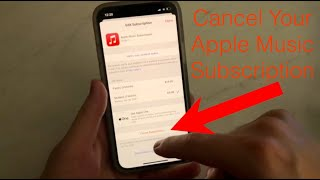 How To Cancel Your Apple Music Subscription From Any Apple Device ( iPhone 12, iPhone 11, iPhone XR)