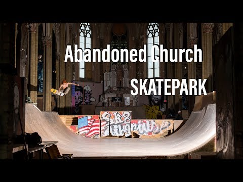 SKATING an ABANDONED CHURCH in MISSOURI (LIBORIUS PARK)