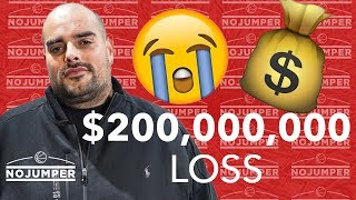 Berner Talks About Taking A 200 MILLION DOLLAR Loss