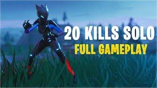 20 Kills Solo   Console - Fortnite Gameplay