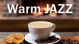 Warm JAZZ - Fireplace & Smooth JAZZ  Music For Stress Relief - Chill Out Music