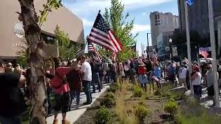 BLM Boise Protest And Massive Counter-Protest In Boise, Idaho!