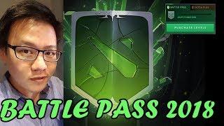 BATTLE PASS 2018 - LANGSUNG BELI LEVEL 75 BOSSQU - DOTA 2