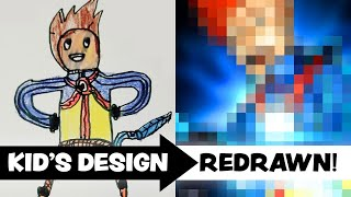 KID'S ART Redrawn by a PROFESSIONAL ARTIST! - Ep.6