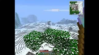 Minecraft ( с модами)- нашёл  2 замок