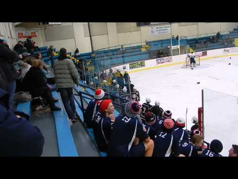 Sometimes Fighting the Other Team Just Isn't Enough... Hockey Players Brawl with Refs