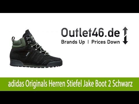 Angesagte adidas Originals Herren Stiefel Jake Boot 2 Schwarz günstig kaufen  | Outlet46.de