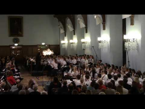 Little Clouds - Middle School Choir, Ceremony of Carols 2017