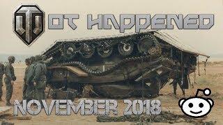 WoT Happened #23 November 2018 - World of Tanks Console Subreddit