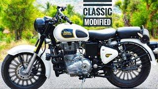 best modified bullet classic 350 white - मुफ्त