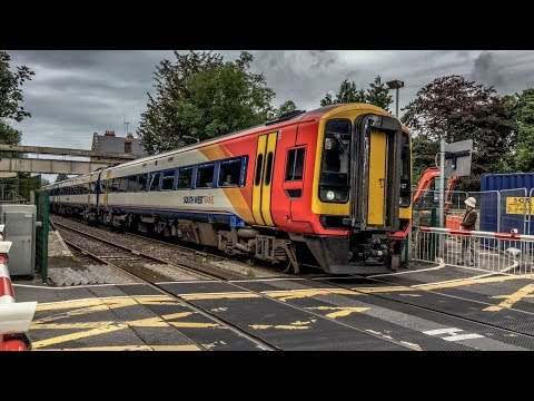 Class 158/159 DMU's filmed on the South Western Mainline at …