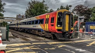 Class 158/159 DMU's filmed on the South Western Mainline at Sherborne during 2017