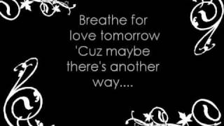 Paramore-Breathe/Until Tomorrow with lyrics
