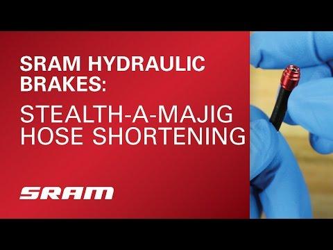 SRAM Stealth-a-majig Hose Shortening