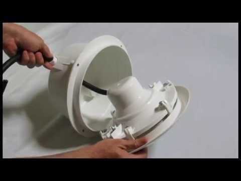 Tutorial: como instalar una lampara de piscina.