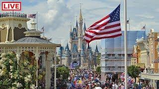 🔴LIVE:  Happy Presidents Day from Walt Disney World! 🏰🇺🇸☀️| Disney's Magic Kingdom Live Stream