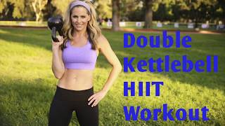 25 Minute Double Kettlebell Workout For Strength & Cardio by BodyFit By Amy