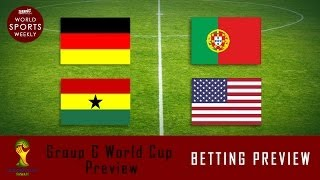 Soccer Picks: Group G World Cup Betting Predictions
