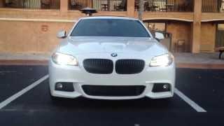 2013 BMW 535i M Sport Head/Tail Lights(HD)