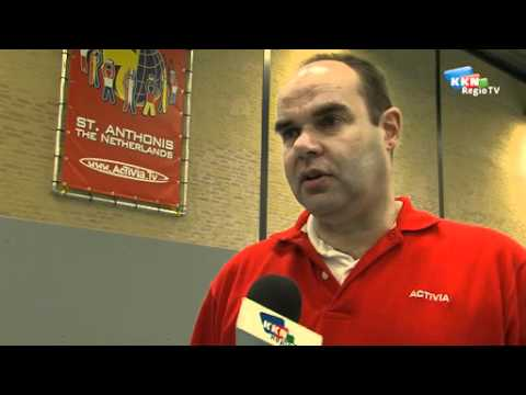 Interview internationaal mini-volleybaltoernooi Activia