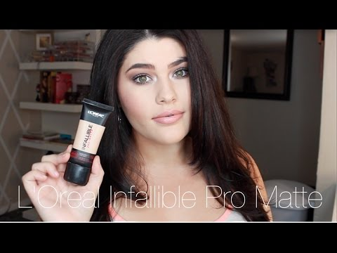 First Impression NEW L'Oreal Infallible Pro Matte Foundation