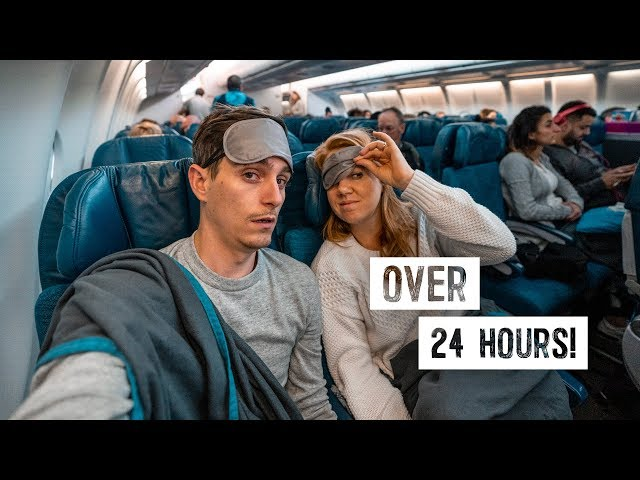 Longest Travel Day WE'VE EVER HAD 😳 Long Haul Flight from Melbourne to LAS VEGAS!