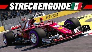 F1 2017 Mexiko GP Streckenguide | Formel 1 2017 Tutorial Deutsch 4K Gameplay German