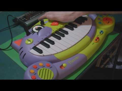Circuit Bent Cat Piano by freeform delusion