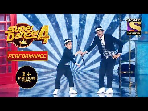 Florina और Tushar बने Charlie Chaplin   Super Dancer 4   सुपर डांसर 4