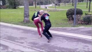 Gorka Ugarte – Defensa contra estrangulamiento con empujón desde atras