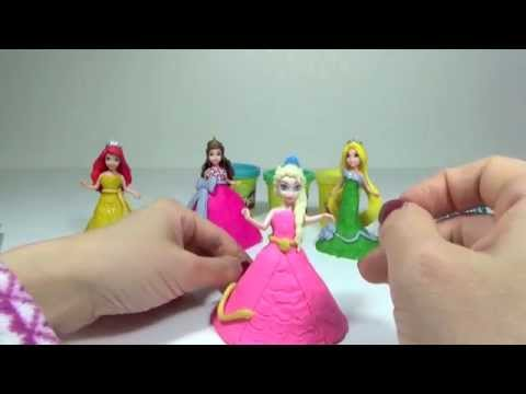 Play Doh Ball Gown Disney Princess Glitter Glider Frozen Elsa Rapunzel 플레이도우 드레스 겨울왕국 엘사 라푼젤 mp3 yukle - mp3.DINAMIK.az