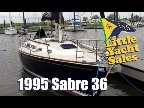 1995 Sabre 36 Sailboat for sale at Little Yacht Sales, Kemah Texas