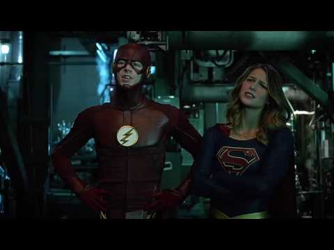 Arrow 5x08 Team Arrow Meets Supergirl & The Flash   Part  #7 Crossover Ultra HD 4K