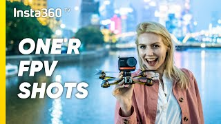 Shooting FPV Drone Footage with Insta360 ONE R