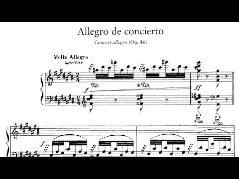 Enrique Granados: Allegro de concierto Op. 46 (1904)
