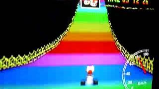MK64 - former world record on Rainbow Road - 5'53''80 (NTSC: 4'54''24)